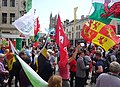 March for Welsh Independence arranged by AUOB Cymru First national march; Wales, Europe 41.jpg