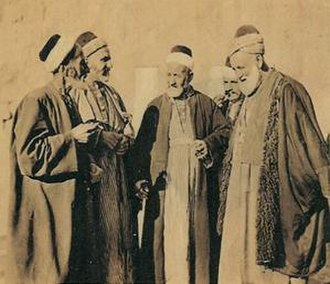 Mardin - Men in Mardin, around 1900