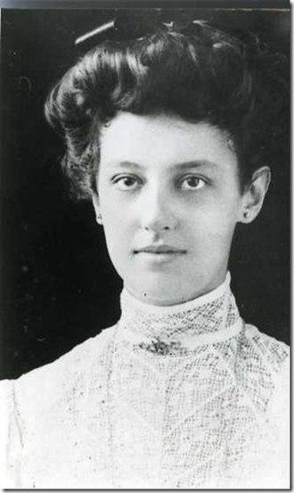 Maria Dermoût - Maria Dermoût in 1907