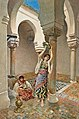 Maria Martinetti Two female musicians in a courtyard 1891.jpg