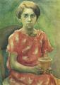 Marian Ruzamski - Dziewczynka w czerwonej sukience.png