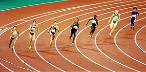Athletics at the 2000 Summer Olympics – Women's 200 metres - Round 2 Heat 2