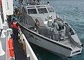 Mark VI patrol boat alongside Myrtle Hazard 201125-N-NO824-1002.JPG