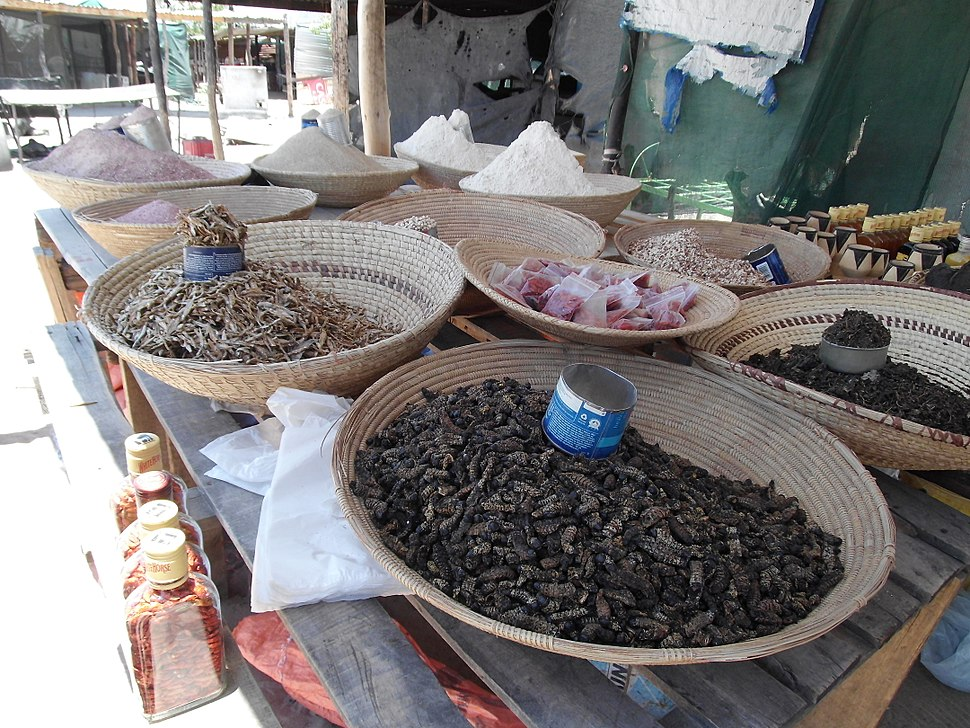 Market Scene Oshakati Namibia