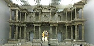 Market Gate of Miletus - Image: Markttor von Milet