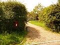 Marnhull, postbox No. DT10 102, Moorside - geograph.org.uk - 1434097.jpg