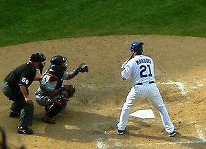 Jason Marquis - Marquis batting for the Chicago Cubs in 2008