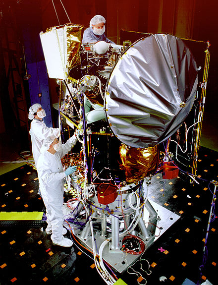 Mars Climate Orbiter during tests Mars Climate Orbiter during tests.jpg