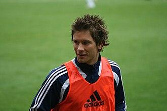 Martin Fillo - Fillo training with Viking in 2008.