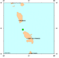 Martinique November 29, 2007 Earthquake Location.PNG