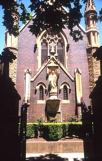 Mary MacKillop - Mary MacKillop Chapel in North Sydney, which holds MacKillop's tomb