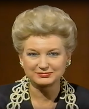 Maryanne Trump Barry - Image: Maryanne Trump Barry in 1992