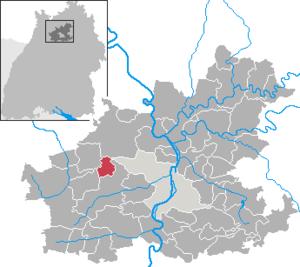 Massenbachhausen - Image: Massenbachhausen in HN