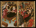 Master of Riglos - Annunciation of the Death and Dormition of the Virgin - Google Art Project.jpg