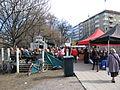 Mat- och kaffeservering på Åbo Skärgårdsmarknad 2011.jpg