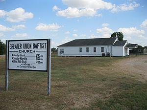 Matthews, Texas - Image: Matthews TX Greater Union Church