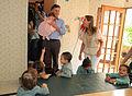 Mauricio Macri inauguró un Centro de Primera Infancia en Villa Luro (6887790955).jpg