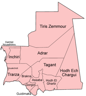 Mauritania regions english.png