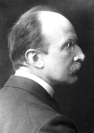 Max Planck - Planck in 1918, the year he received the Nobel Prize in Physics for his work on quantum theory