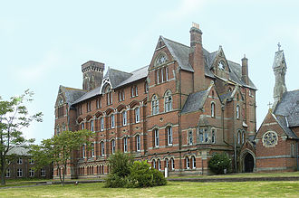 Mayfield College - Mayfield College in 2006 - after closure, before refurbishment