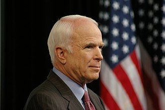 John McCain 2008 presidential campaign - Waiting to make nuclear policy proposals in May 27, 2008 speech at Denver, Colorado.