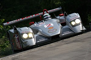 Audi R8 (LMP) - An Audi R8 in its final race.