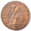 Medal. T. Zalkalns 1876—1976. K. Blaumanis. Reverse.png