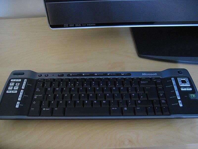 File:Media Centre Keyboard.jpg