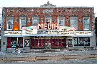 Media, Pennsylvania - The Media Theatre for the Performing Arts
