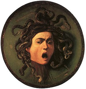 1597 in art - Image: Medusa by Caravaggio 2