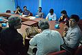 Meeting with Wikipedians and JU Officers - Bengali Wikipedia 10th Anniversary Celebration - Jadavpur University - Kolkata 2014-11-21 0702.JPG