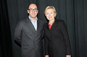 Mehmet Emin Toprak (businessman) - Mehmet Emin Toprak and Hillary Clinton
