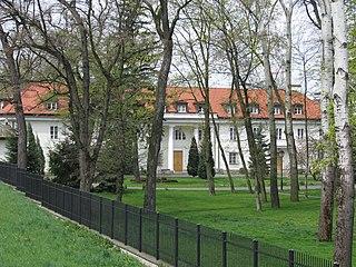 Dzielnica of Warsaw in Masovian, Poland