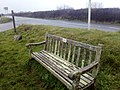 Memorial bench at Labrador Bay - 2018-03-10 - Andy Mabbett - 02.jpg