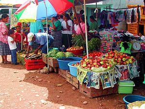Playa Grande, Guatemala - The market in Playa Grande Ixcán