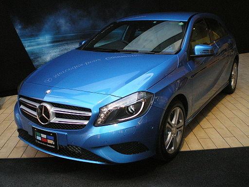 Mercedes-Benz A-class W176 JPN 01