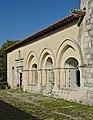 Merpins 16 Abbaye de la Frenade Façade W 2014.jpg