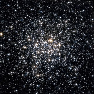 Messier 107 Globular cluster in the constellation Ophiuchus