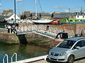 Metal bridge in Arbroath Harbour - geograph.org.uk - 526785.jpg