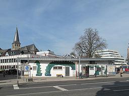 Mettman, zicht op kerk vanaf Johannes Flintropstrasse foto1 2012 03 27 12.13