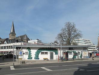 Mettmann - Image: Mettman, zicht op kerk vanaf Johannes Flintropstrasse foto 1 2012 03 27 12.13