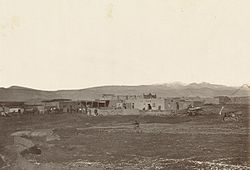 The Mexican town of Cubero, ca. 1867