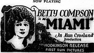 <i>Miami</i> (1924 film) 1924 film by Alan Crosland