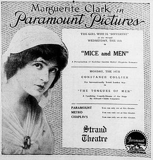 <i>Mice and Men</i> (film) 1916 film by J. Searle Dawley
