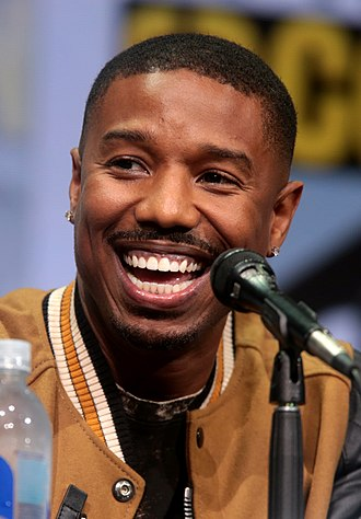 Michael B. Jordan - Jordan at the 2017 San Diego Comic-Con International