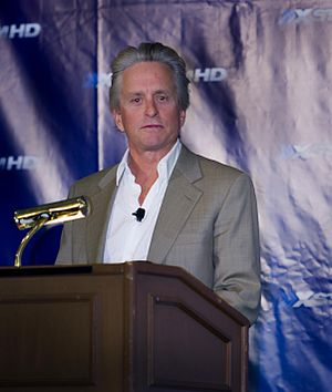 Fagel Attraction - Michael Douglas received praise for his performance.