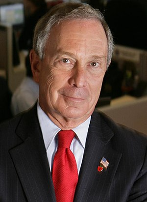 New York Mayor, Michael R. Bloomberg.