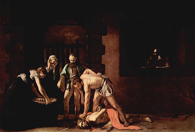 «Казнь Иоанна Крестителя» (картина Караваджо)