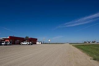 Midale Town in Saskatchewan, Canada