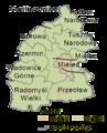 Mielecki county gminas - Podkarpackie.png